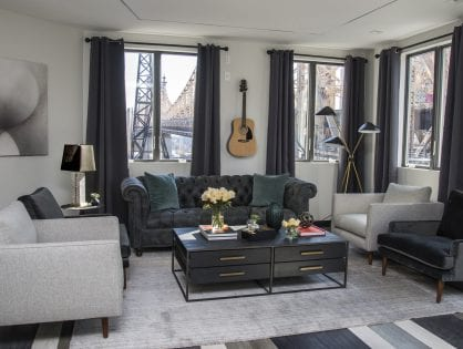 417 East 60th St. – Residential Lounge